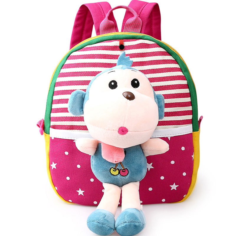 6711283068 2018 Hot sales children school bags cute cartoon bear infant backpacks for baby  girl boys schoolbag
