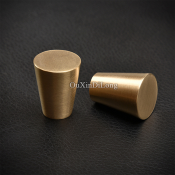 High Quality 10PCS European Solid Brass Cabinet Pulls Handles Kitchen Cupboard Wardrobe Drawer Door Handles and Knobs