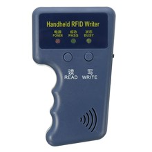 NEW Handheld  RFID card reader 125KHz ID card reader device Copier Writer Programmer Reader