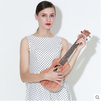 Youkiri Beginner 23 Inch 21 Inch Student U Kelili Small Guitar Instrument
