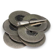 12Pcs/set 30MM Diamond Cutting Disc Set for Rotory Tools Accessories Mini Saw Blade Grinding Wheel Circular