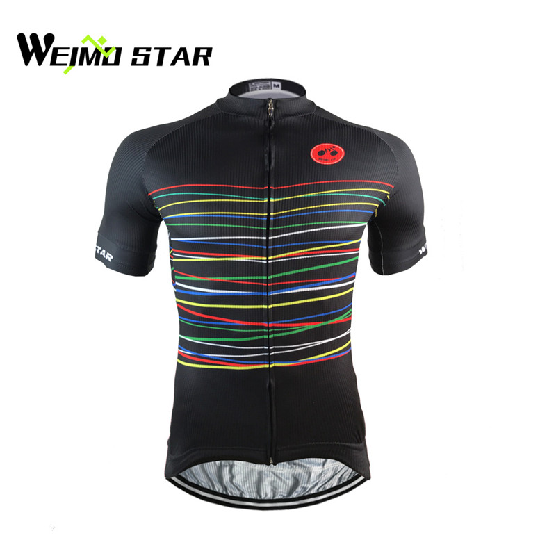 Cycling Jersey 2017 Weimostar Men Bike Jersey Tops Ropa Ciclismo mtb Bicycle Cycling Clothing Maillot Summer Cycling Wear CD-33