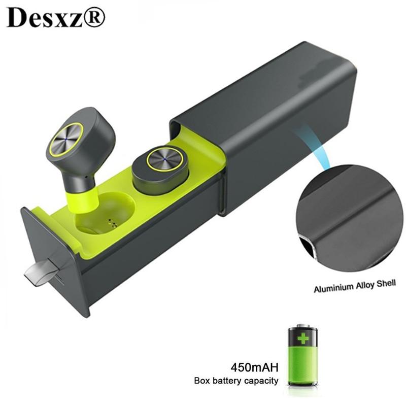 Desxz TWS Earphones Magnetic i7 Portable Mini Wireless Earbuds Twins Earphone Bluetooth 4.2 Head phone With Battery Box Hands
