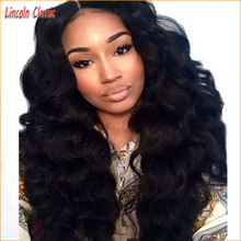 New Natural Thick Hair 150 Density Lace Front Human Hair Wigs Body Wave Lace Front Brazilian Virgin Hair Wig Glueless Lace Wig