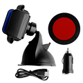 Qi Wireless Car Charger Transmitter Holder For iphone Samsung Galaxy S7/S6 LG G3