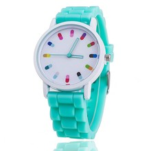MEIBO Hot Selling Children's watches Colorful Dial Analog Causal Sport Wristwatch Silicone Strap Quartz Watches For Kids relogio