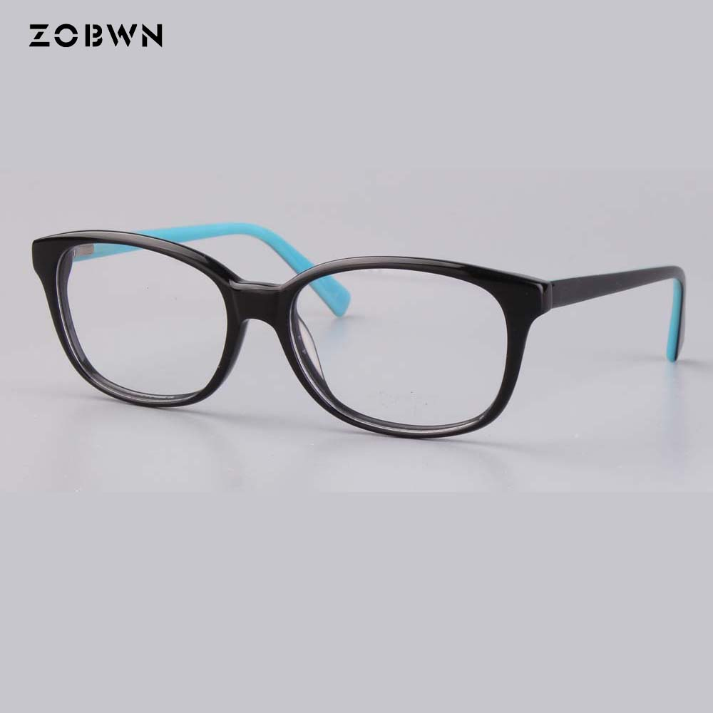 wholesale fashion women glasses brand desinger vintage frames round black wine can put reading myopia lens prescription eyewears in Men 39 s Eyewear Frames from Apparel Accessories