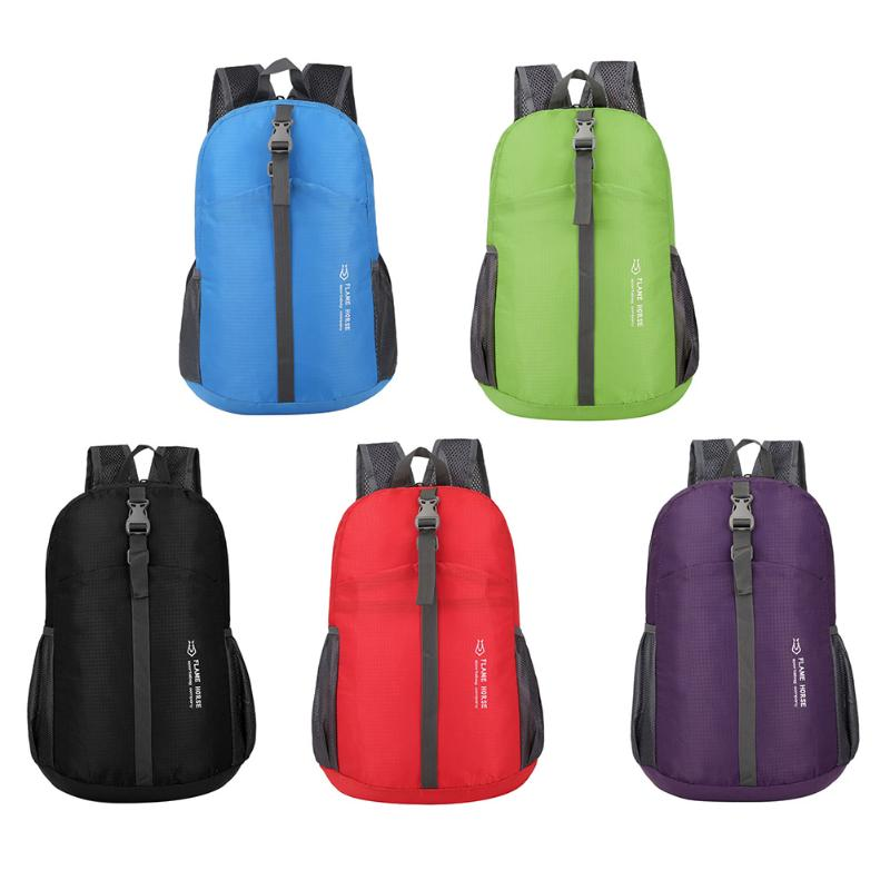 Unisex Backpack Portable Shoulder Bag Waterproof Folding Bag Pouch Travel Backpack Outdoor Travel Bags Sack Men Back Packs New