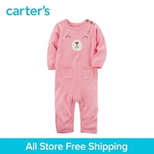 Carter's 1-Piece baby children kids clothing Girl Spring Fall Bear Sweater Jumpsuit 127G567