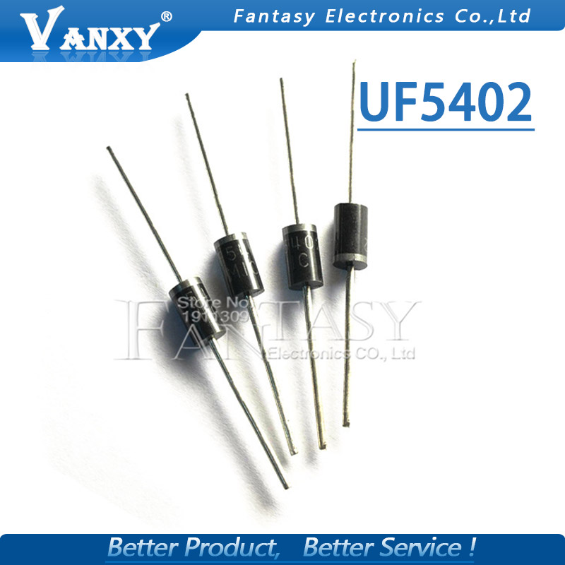 20PCS UF5402 3.0 AMP. ULTRA FAST RECTIFIERS UF5402