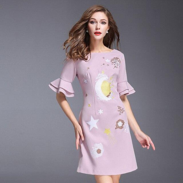 Damen kleid herbst 2017