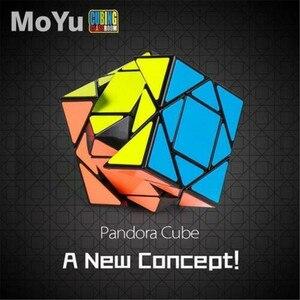 Image 4 - Moyu 3x3x3 פנדורה מהירות הטיה קוביית קסם מקצועי Ultra חלקה טוויסט פאזל 1 Pcs בטוח ABS פלסטיק מקצועי
