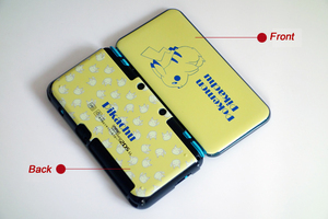 Image 4 - Matte Protector Cover Plate Protective Case Housing Shell for Nintend New 2DS LL/ New 2DS XL for Doraemon MHX