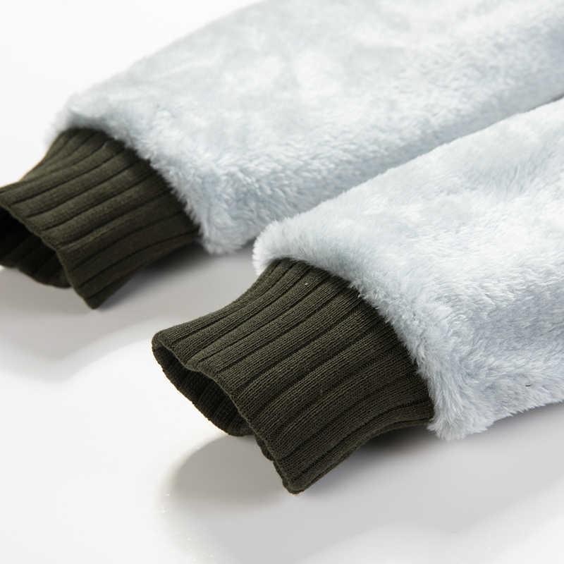 США размер военные мужские супер теплые толстовки зимние Утепленные флисовые молнии с капюшоном Камуфляж хип хоп Камуфляж Толстовка мужская