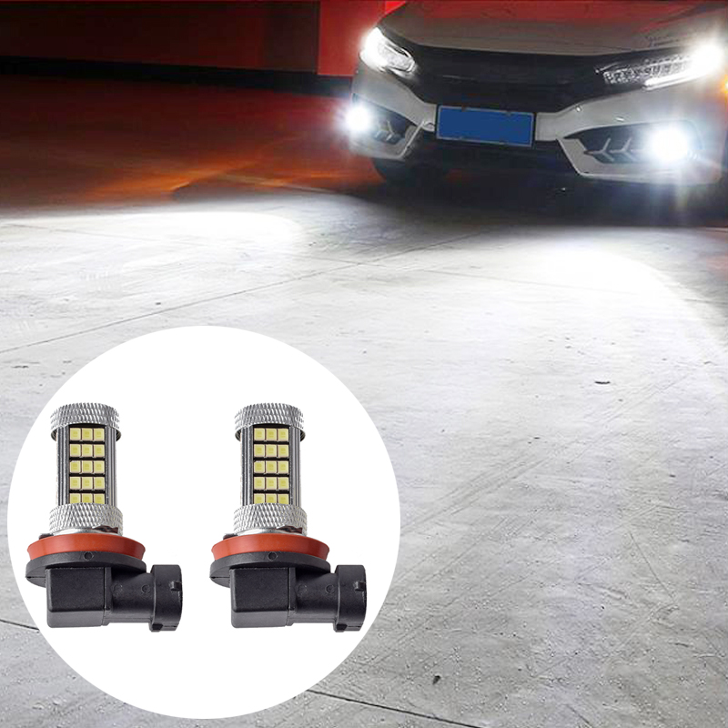 For Toyota CH-R CHR RAV4 Camry 40 50 70 2x H8 H11 Led Chip Auto Car Lights Fog Driving Light Lamp Bulb