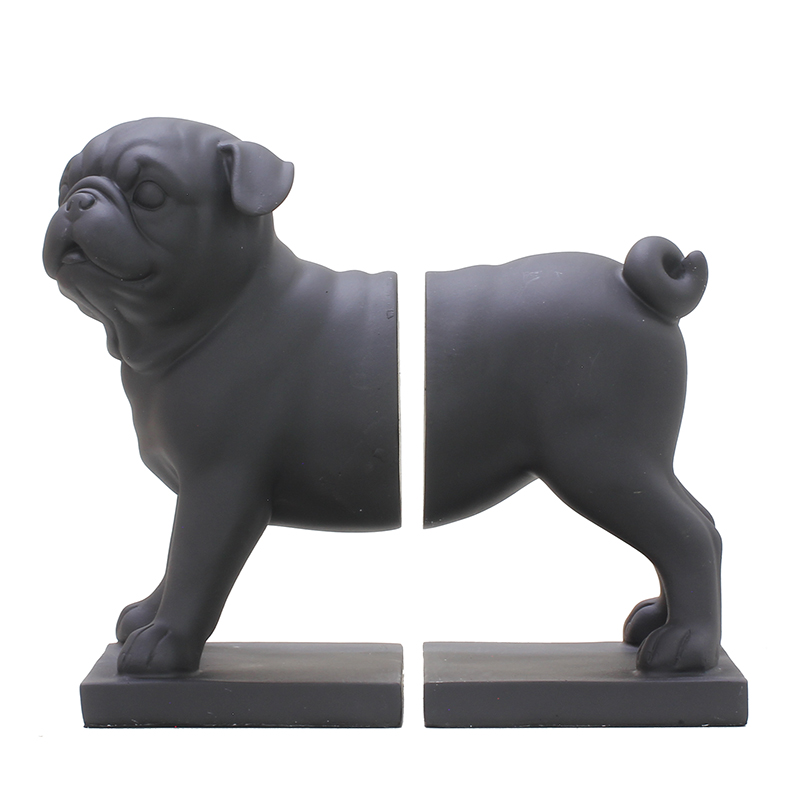Black Sanddog Ornaments Cute Dog Ornaments Living Room Study Decorations Book Shelves Exquisite Gifts - 5