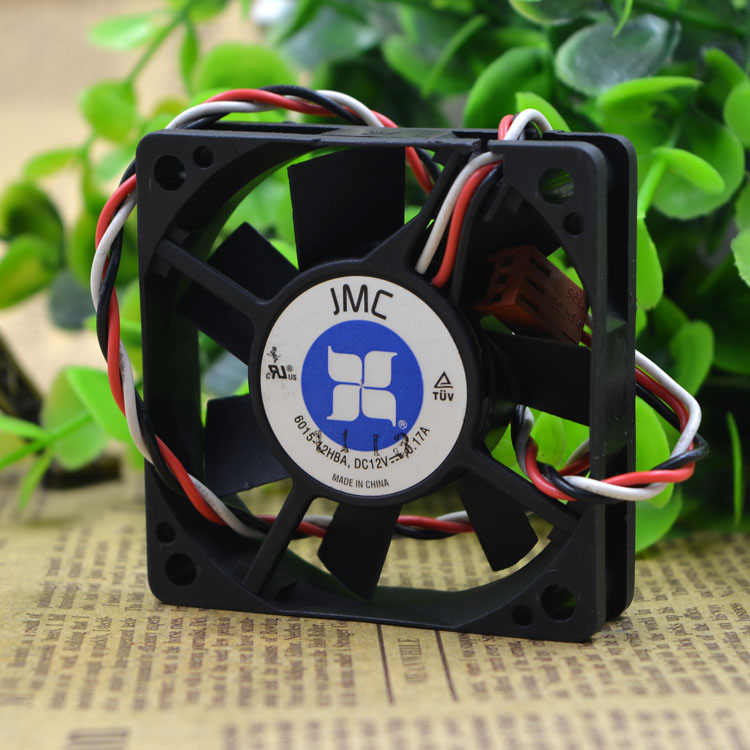 Free Delivery. JMC 6015-12 hba 12 v 0.17 A 6 cm 6015 3 line cooling <font><b>fan</b></font> <font><b>60</b></font> * <font><b>60</b></font> * 15 <font><b>mm</b></font> image