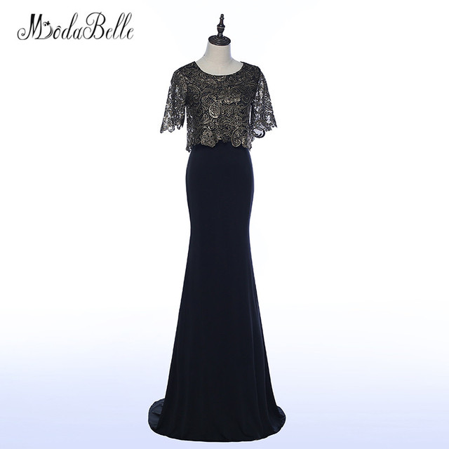 1addc1c4fd modabelle Vintage Mother Of The Bride Dresses With Jacket Lace Sleeves Wedding  Party Long Mermaid Evening Gowns Mother Groom
