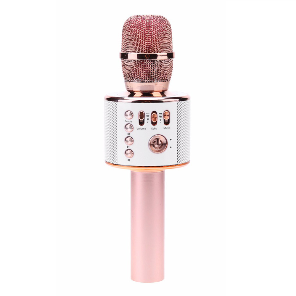 K38 Bluetooth Karaoke Microphone Wireless Microphone Professional Player speaker With Carring Case For Iphone 8 x Android