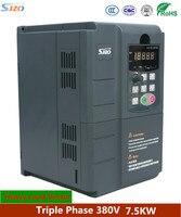 SJZO серии 511 преобразователь частоты 7.5KW V/F SVC FVC переменной частоты переменного тока Triple Phase 380 В конвертер для ЧПУ