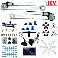 Frente Universal 2-portas Kits de Janela de Poder Auto Carro Elétrico com Conjunto de Interruptores e Harness # FD-905