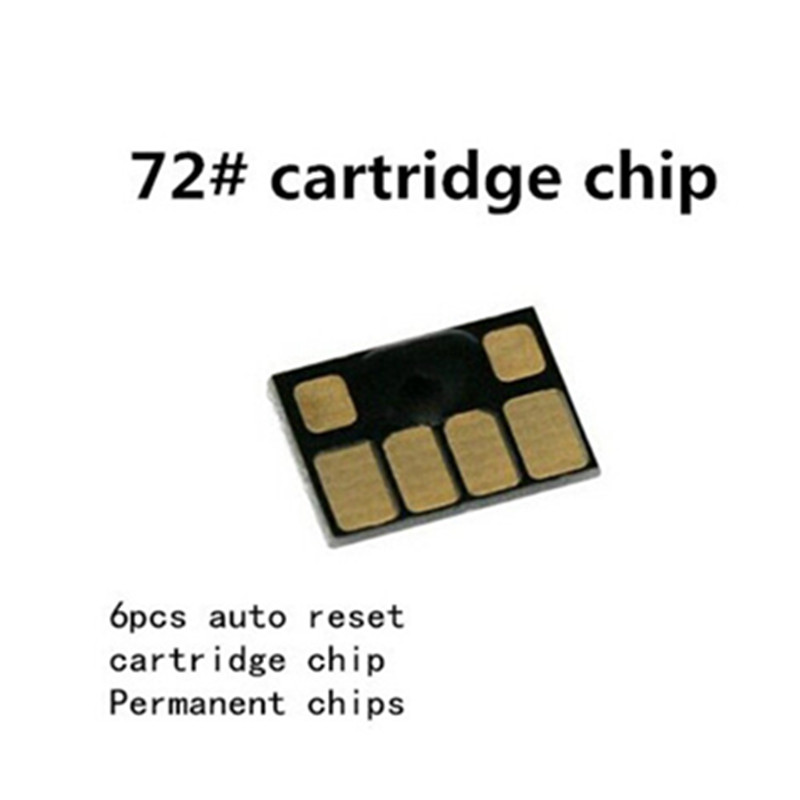 For HP72 <font><b>72</b></font> Permanent <font><b>chip</b></font> for <font><b>HP</b></font> <font><b>72</b></font> designjet T610 T770 T790 T1100 T2300 printer <font><b>chip</b></font> image