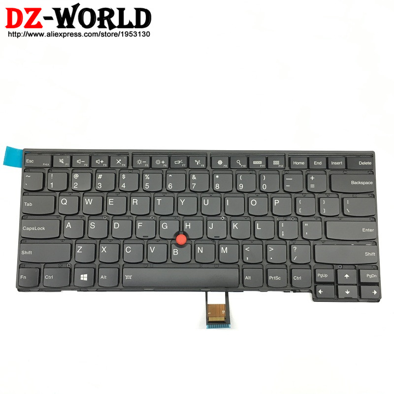 New/Orig US English Backlit Backlight <font><b>Keyboard</b></font> for Thinkpad T431S T440 T440P T440S T450 T450S <font><b>T460</b></font> 04X0101 04X0139 0C43906 image