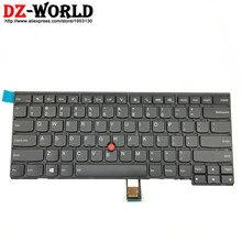 Novo/orig eua inglês retroiluminado teclado para thinkpad t431s t440 t440p t440s t450 t450s t460 04x0101 04x0139 0c43906