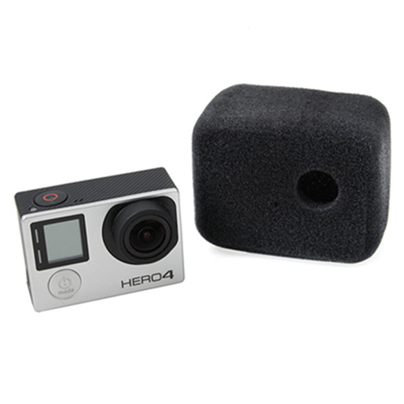 Windscherm Sponge Cover Frame voor Gopro Hero 4 3 Windslayer Foam Windscherm voor Go Pro Hero4 Action Camera Accessoires