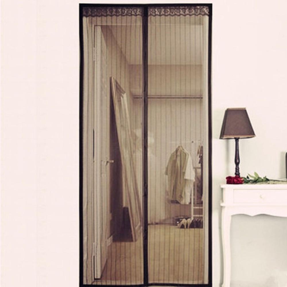 Door Window Screens Mesh Screen Door Mosquito Net Black Door For