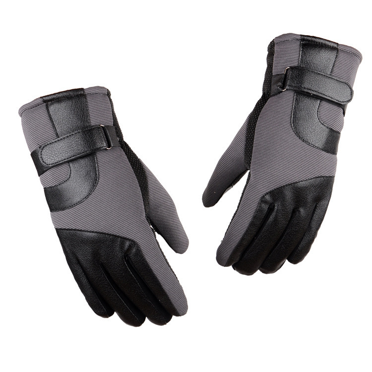 Touch Screen Ski Gloves Men Women Warm Waterproof Skiing Snowboard Gloves Snowmobile Outdoor Winter Sports Snow Gloves