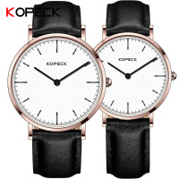 KOPECK Couple Watch Men Women Watches Luxury Brand Quartz High Quality Relogio Masculino Ultra Thin Lovers