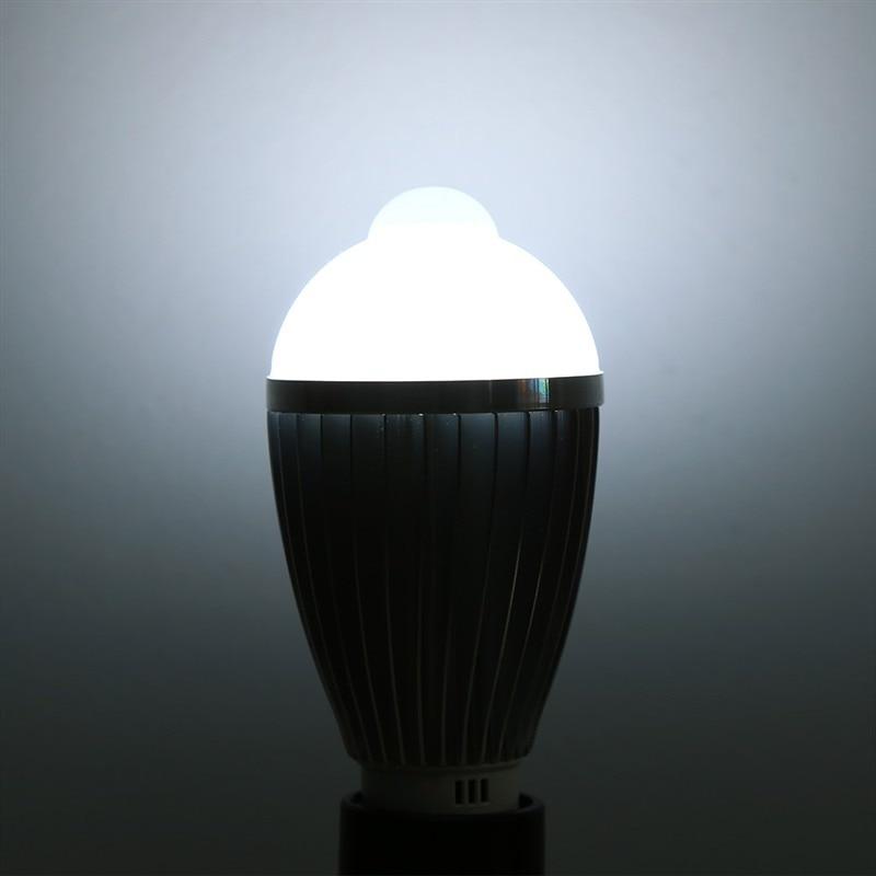 Light Bulbs Led Bulbs & Tubes Obliging Ir Motion Sensor Led Bulb Spotlight Lamp E27 5w /7w /5730smd Cool Warm White Ac 85-265v For Bedroom Hallway Cabinet Carefully Selected Materials
