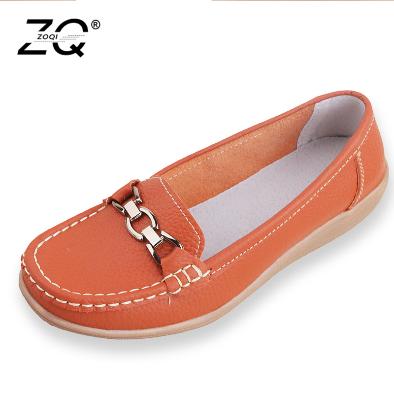 ZOQI 2018 Women Flats Shoes Candy Spring Women Casual Loafers Zapatos Mujer Ladies Shoes Tenis Feminino casual Summer Shoes 2018 hollow out breathable comfortable fashion head casual flat women shoes tenis feminino spring and summer shoes woman flats