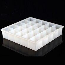 25 空洞シリコーン石鹸モールド石鹸作るdiyチョコレートキャンディモールド手作りキッチンアクセサリー