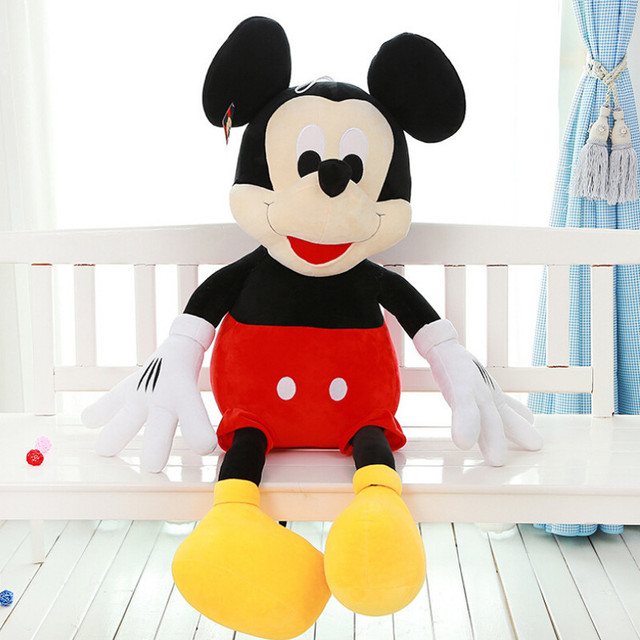 2016 New 1 Piece 40CM Mini Lovely Mickey Mouse And Minnie Mouse Stuffed Soft Plush Toys Christmas Gifts