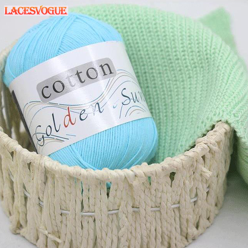 10 PCS Crochet Yarn Cotton Knitting Yarn Crochet Yarns for Crochet Anti-Static Soft knitting cloth thread Wholesale LAVO402
