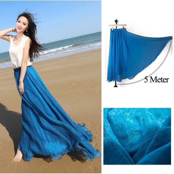Long Flared Skirts For Women - Dress Ala