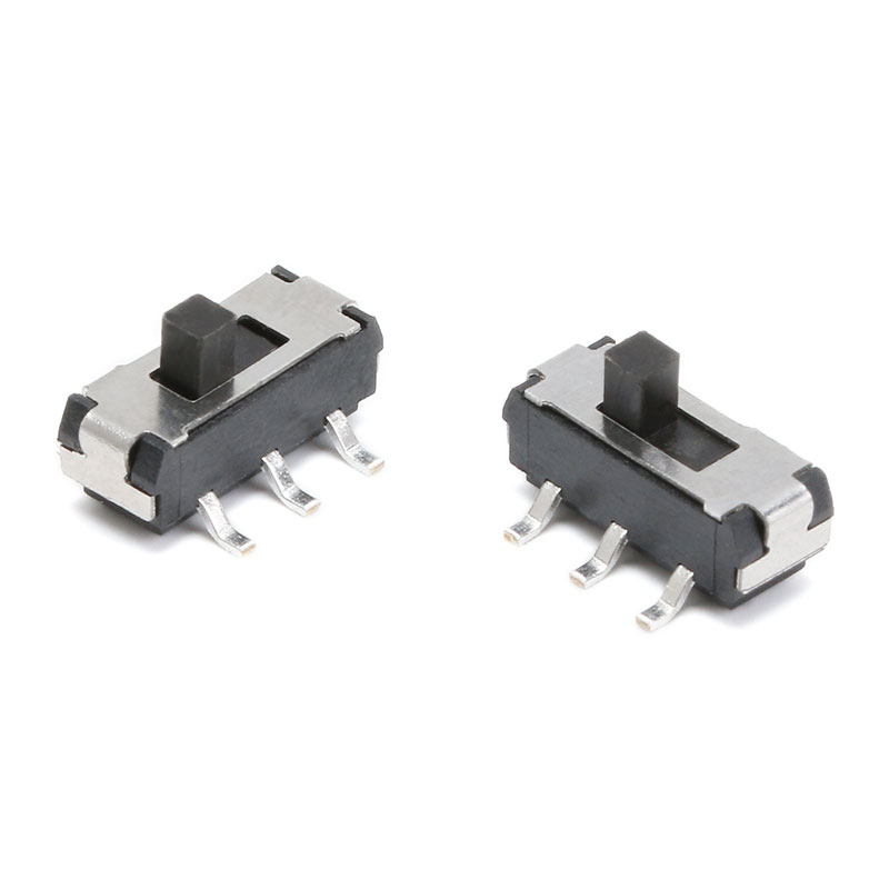 20 Pcs On//Off//On DPDT 2P2T 6 Pin Vertical DIP Slide Switch 9x4x3.5mm BF