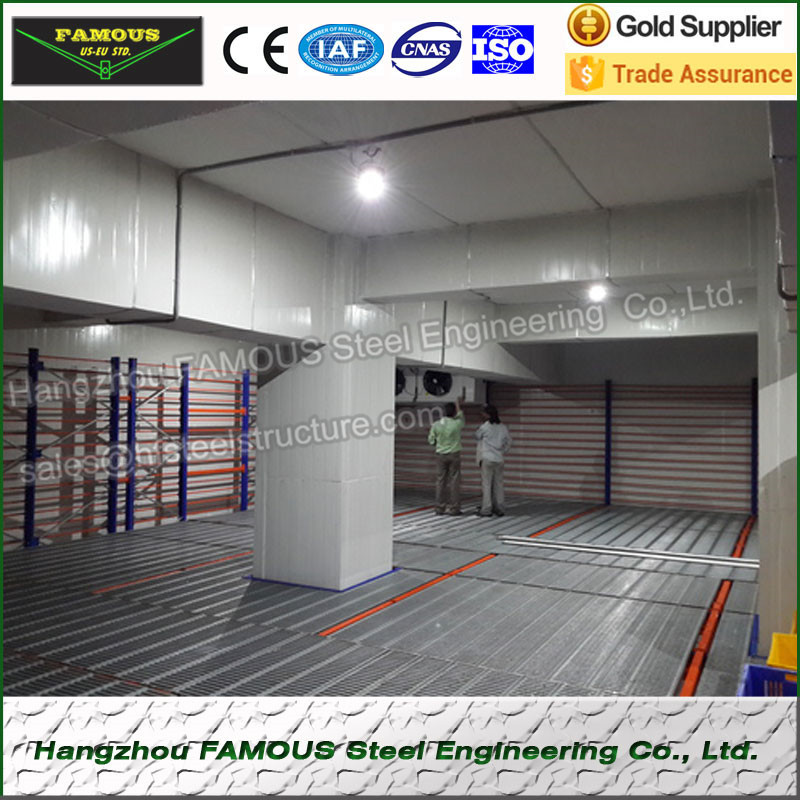 China Factory And Design Cold Storage , Walking In Cold Room Parts And Portable Cold Storage System, Ice Cream Freezers