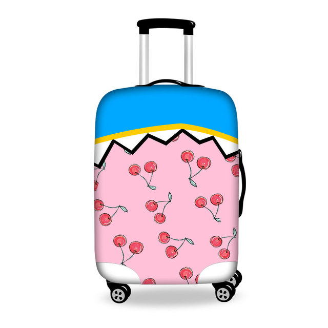 FORUDESIGNS Cute Cartoon Elastic Luggage Protective Covers Lovely Luggage Cover for Women Girls Suitcase Luggage Sleeve Covers