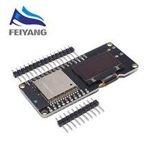 10PCS WEMOS ESP32 OLED & Arduino ESP32 OLED WiFi 모듈 + 블루투스 듀얼 ESP 32 ESP 32S 0.96 OLED