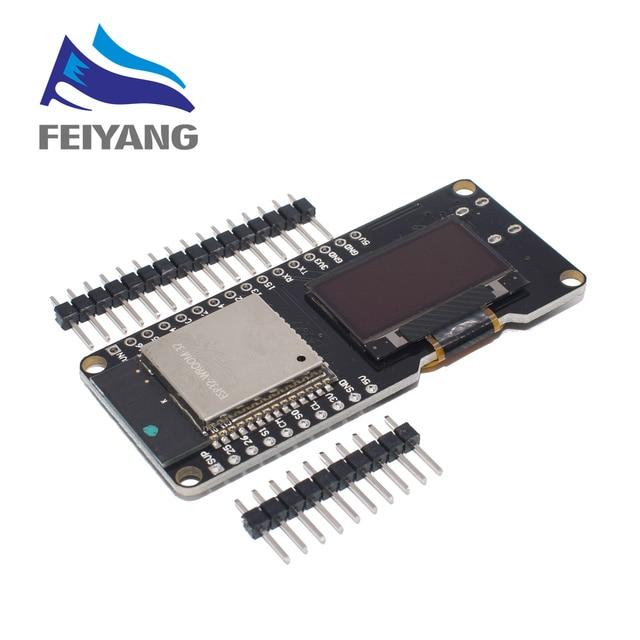 10PCS WEMOS ESP32 OLED e per Arduino ESP32 OLED Moduli WiFi + Bluetooth Dual ESP 32 ESP 32S 0.96 OLED