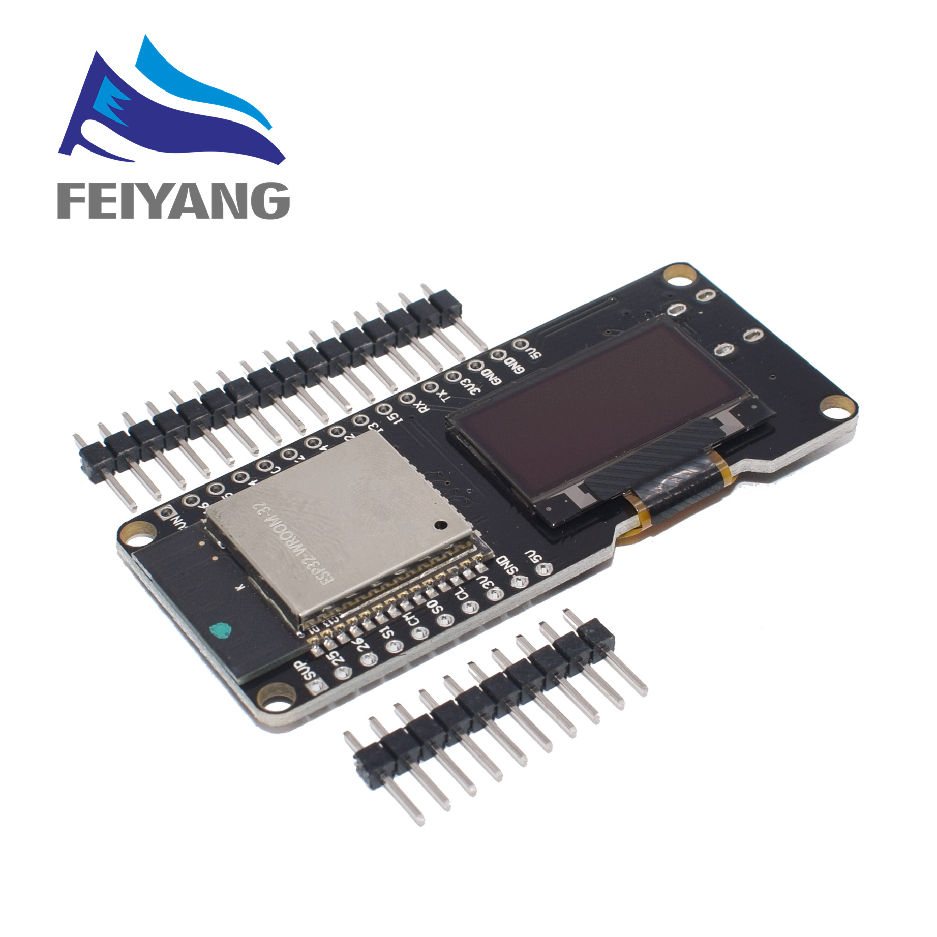10PCS WEMOS ESP32 OLED &for Arduino ESP32 OLED WiFi Modules+ Bluetooth Dual ESP 32 ESP 32S ESP8266 &OLED-in Integrated Circuits from Electronic Components & Supplies