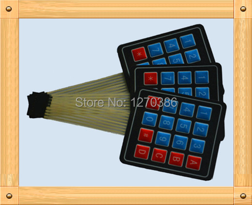 Free Shipping!!! matrix membrane switch / membrane keypad / extended keyboard module