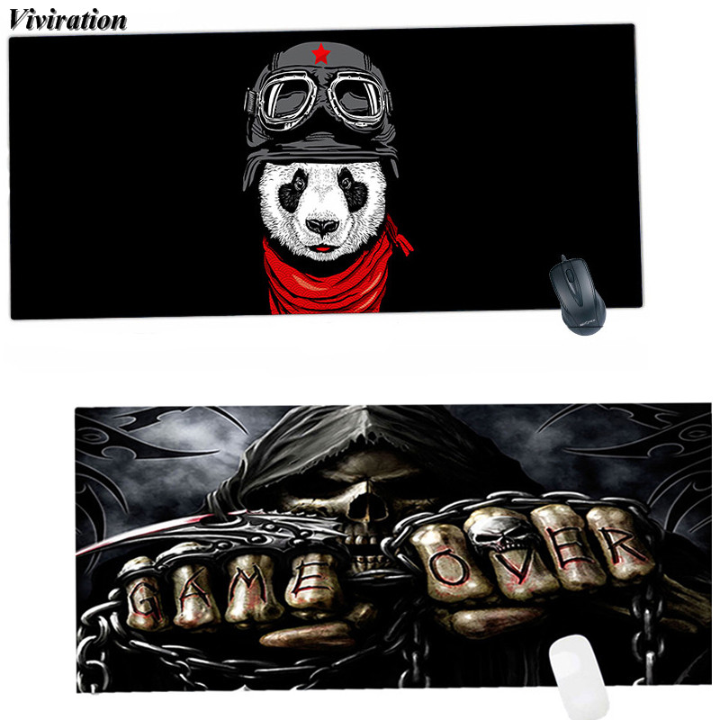Viviration Keyboard Computer Laptop Mouse Pad Mat Fashionable High Quality 900*400mm XL Gaming Mouse Mat Pad 2018 New Arrival
