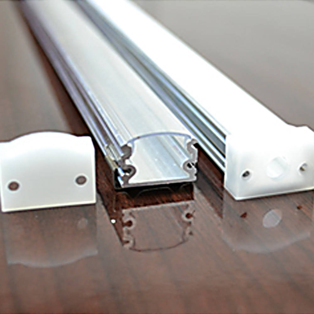 60m (30db) sok, 2m / darab, vékony alumínium extrudálási profilok - LED Világítás