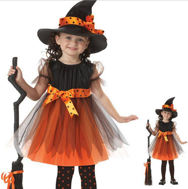 grils dresses princess christmas kids dress cinderella dress girl scary monster halloween costume children clothing