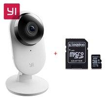 Официальный Версия Xiaomi Xiaoyi YI Главная Камера 2 + 32 GB Micro SD HD 1080 P 130 Широкие Углы Распознавание Жестов Обнаружения человека