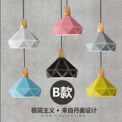 Und vertraglich marca Nordic drachen farbe solide holz drop persönlichkeit restaurants cafés wohnzimmer beleuchtung - 5